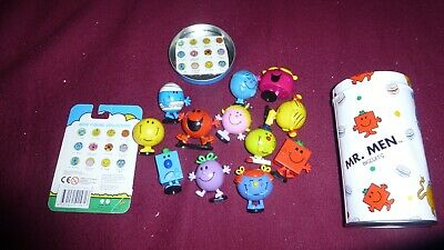 Mr Men And Little Miss Mini Figure Collection Of 12 Toys • 40£