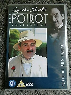 Agatha Christie Poirot Collection DVD (18) Peril At End House. David Suchet. • 7£