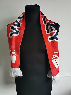Vintage Wembley Football Scarf - England With Tassels • 7.99£
