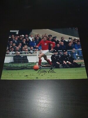 George Cohen Hand Signed 8x6 Photo Fulham And England Football With COA • 10.80£