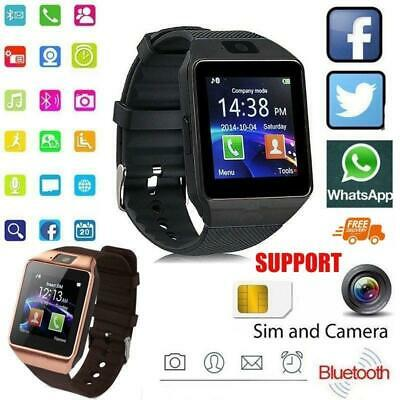AU43.01 • Buy Dz09 Smart Watch Support Bluetooth Sim Tf Card Women And Men Fashion Waterproof