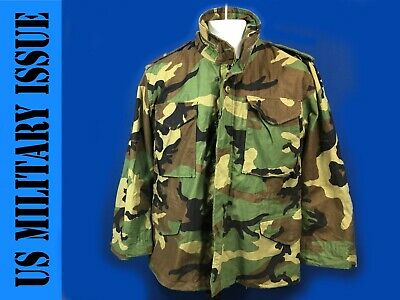 $65 • Buy Vintage US Military M65 Field Jacket Woodland Size Small Short
