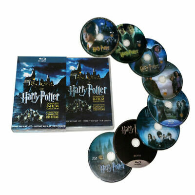 AU25.99 • Buy Harry Potter Complete 1-8 Movie DVD Collection Films Box Set As Xmas Gifts