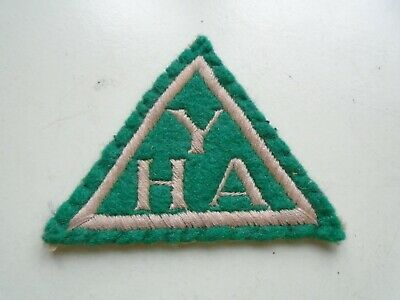 YHA Embroidered Patch Badge. • 3.60£
