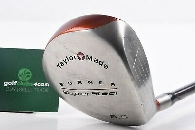 Taylormade Burner Supersteel Driver / 9.5° / Stiff Flex Bubble Shaft / Tadsup109 • 29.95£