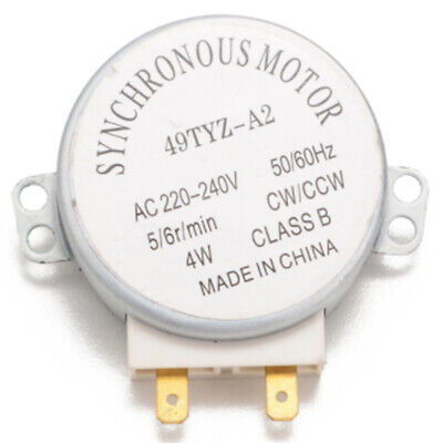 £4.88 • Buy Microwave Oven Synchronous Motor 49TYZ-A2 AC 220-240V CW/CCW 4W 5/6 OI