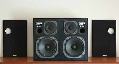Matched Pair - Yamaha AST-S1 Active Servo Speakers ~RARE~ Re-foamed/Serviced • 195.95£