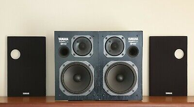 Matched Pair - Yamaha AST-S1 Active Servo Speakers ~RARE~ Re-foamed/Serviced • 269.95£