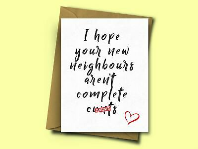 Funny Housewarming Card For Friends New Home From Mum Dad Brother Sister • 2.95£