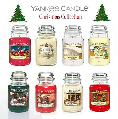 Yankee Candle Large Jar Candle - Christmas Selection Xmas Christmas Cookie Angel • 21.99£