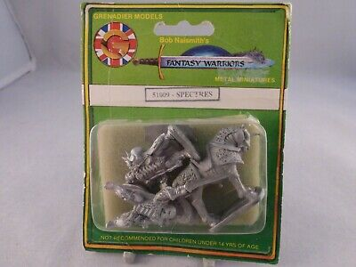 Grenadier Models Fantasy Warriors Undead Spectres Set - Still In Sealed Blister • 30£