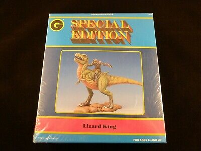 Grenadier Models Special Editions Lizard King On Dinosaur - Still In Sealed Box! • 40£