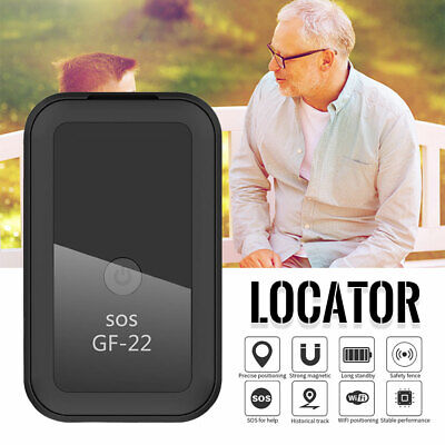 GF22 Car Mini GPS Tracker Magnetic Real Time Tracking Locator Device LBS/AGPS • 17.99£