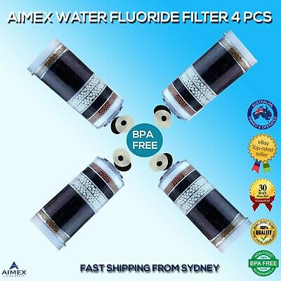 AU80 • Buy Aimex Water 7 8 Stage Water Filter Fluoride Reduction Control 4 Filters BPA Free