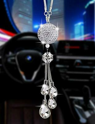 $18.49 • Buy Bling Car Accessories For Women And ManCute Car Decor For WomenLucky Crystal ...