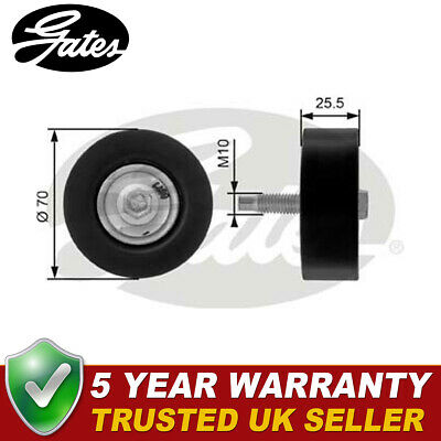 £19.07 • Buy Gates Drive Belt Deflection Guide Pulley Fits Ford Focus (2001-2004) - T36200