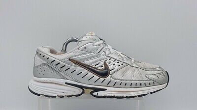 Men's NIKE Impact Support Size 7 Running Shoes Silver & White Laced In E U C  • 19.50£
