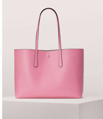 $ CDN131.52 • Buy New Kate Spade Molly Large Tote Hibiscus Tea Pink + Wristlet Great Gift