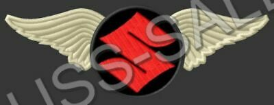 $12 • Buy SUZUKI WINGS EMBROIDERED PATCH ~5-1/4  X 2  MOTORCYCLES INTRUDER BOULEVARD V2 #2