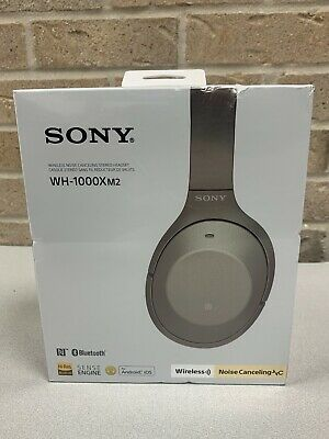 $ CDN263.15 • Buy Sony Wireless Noise-Cancelling Headphones WH-1000XM2 Gold Over-Ear Headset *NEW*