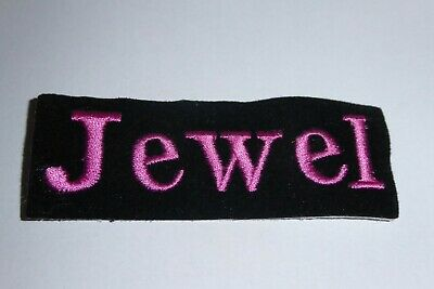 $ CDN6.25 • Buy (3) Vtg JEWEL KILCHER Embroidered Iron On Patch 1990's Rock Concert  Rare
