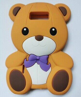£2.95 • Buy NEW 3D Kids Brown Teddy Bear Silicone Phone Case Cover LG Optimus L7 P700 / P705