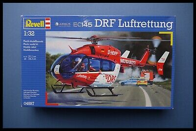 RARE REVELL Airbus Helicopters EC 145 DRF Luftrettung 1:32 Model Kit Sealed Box • 72.95£