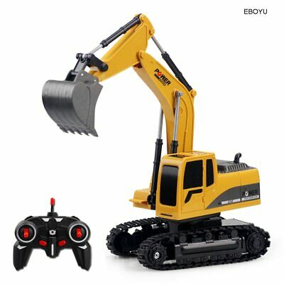 £26.73 • Buy EBOYU 258-1 2.4Ghz 6CH 1:24 RC Excavator Mini RC Truck Rechargeable Simulated
