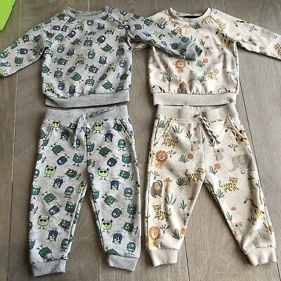 Primark Pants And Top Matching Set Bundle Of 2 Size 12-18 Months Combine P&P • 6£
