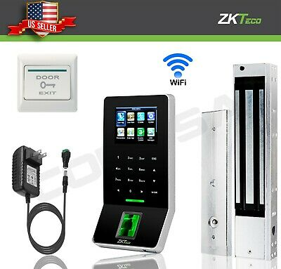 AU386.71 • Buy Kit Door Access Control System Biometric Fingerprint Zkteco, 600lb ZK F22 Entry