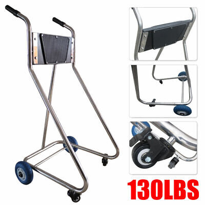 AU149 • Buy Outboard Motor Cart & Engine Stand Stainess Steel Tube Frame Carrier Cart