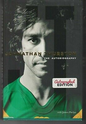 AU75 • Buy JT : Johnathan Thurston Autobiography SIGNED Hardcover BOOK - AS NEW
