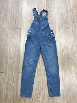 Girls Dungarees Age 11-12 Years (27 Inch Waist) Jordache Blue IN538 • 8.99£