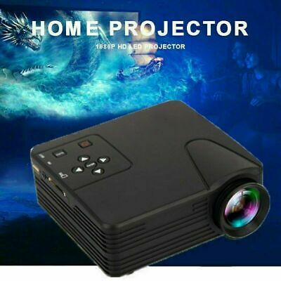 2020 Mini LED HD 1080p Home Cinema Projector LCD Video Home Theater HDMI USB SD • 34.75£