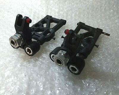 Ansmann Racing Virus 2.0 Nitro Hubs Carriers Knuckles Lower Suspension Arms Rc • 18£