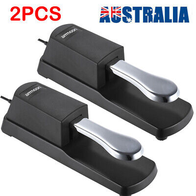 AU24.87 • Buy 2PCS Electric Piano Keyboard Sustain Damper Pedal For Casio Yamaha Roland T5D8