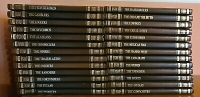 Full 26 Volume Set Of Time Life The Old West Books • 25£
