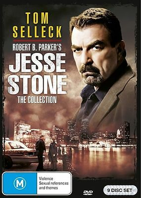 Jesse Stone - The Collection - 9 Disc Set Dvd - Sealed - Tom Selleck - Region 4 • 31.90£
