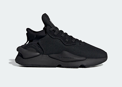 AU671.02 • Buy Adidas Men's Y-3 Yohji Yamamoto Kaiwa Trainers In Black