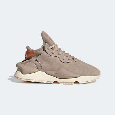 AU671.02 • Buy Adidas Men's Y-3 Yohji Yamamoto Kaiwa Trainers In Khaki And Brown