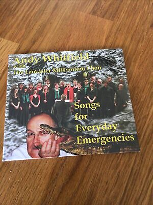 Andy Whitfield & Lancaster Millenium Choir - Songs For Everyday Emergencies (New • 9.99£