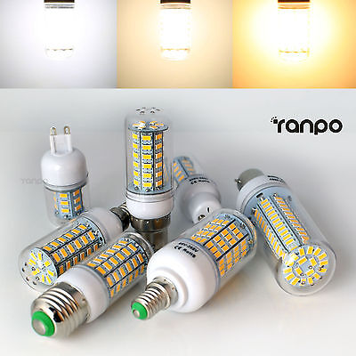 AU7.94 • Buy E27 E14 B22 G9 GU10 5W 7W 9W 12W 15W 25W 28W 5730 SMD LED Corn Light Bulb Lamp