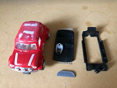 SCALEXTRIC MINI COOPER (unfinished Project With 3D Chassis/interior) Slot Car • 5.99£