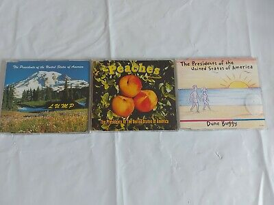 Three Presidents Of The United States Of America Cd Singles.  • 2£