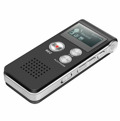 £17.79 • Buy Rechargeable 8/16/32GB Digital Audio/Sound/Voice Recorder Dictaphone MP3 Player