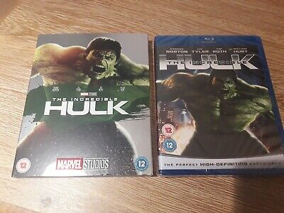 The Incredible Hulk (Blu-ray, 2008) BRAND NEW SEALED WITH ULTRA RARE O RING  • 59.95£