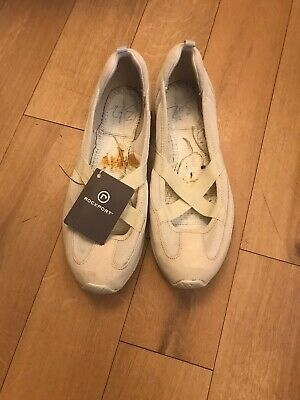 ROCKPORT Cream  Pumps Xcs Running Ladies Lightweight Shoes Size UK 6 • 15£
