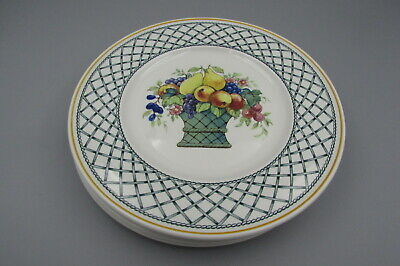 Villeroy & Boch China BASKET Salad Plates - Set Of Four • 32.92£