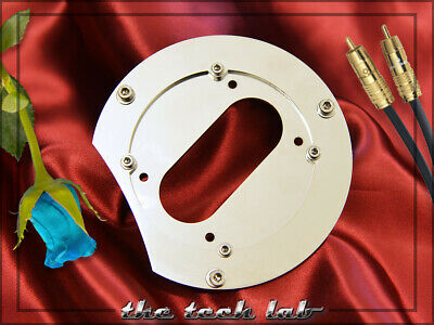 SME Tonearm  Stainless Steel Armboard Plate For Technics SL-1200 1210 MK2 M5G • 64£