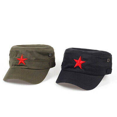 Russian Red Star Army Camouflage Hat Fidel Castro MILITARY Baseball Cap • 5.99£